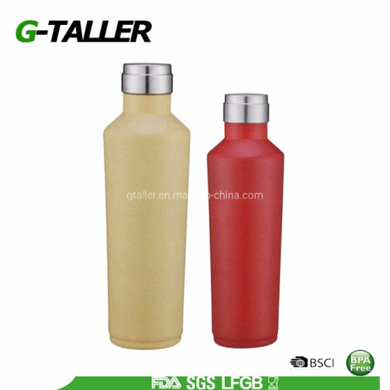 BPA Free Reusable Sports Water Bottle 350/500/700/750ml for Hot/Cold Water