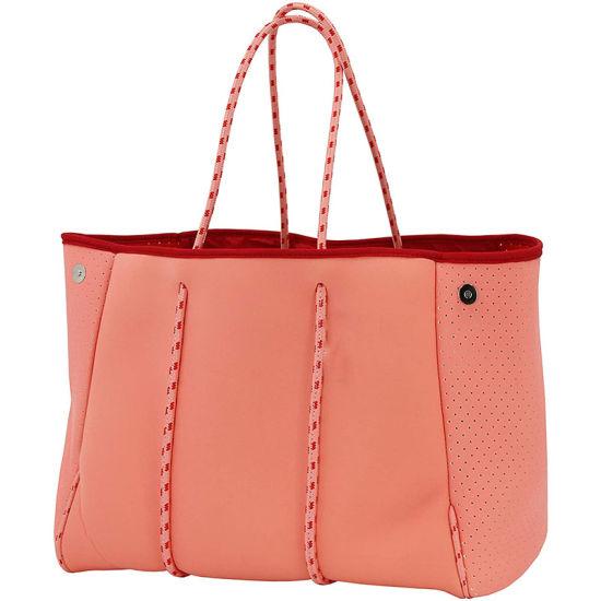 Multipurpose Fashion Wholesale New Design Tote Handbag Travel Bag Portable Neoprene Beach Bag with Inner Zipper Pocket