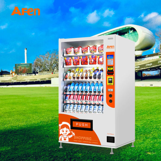 Afen Hot New Super Quality Water Vending Machine Business Combo Vending Machine for Park