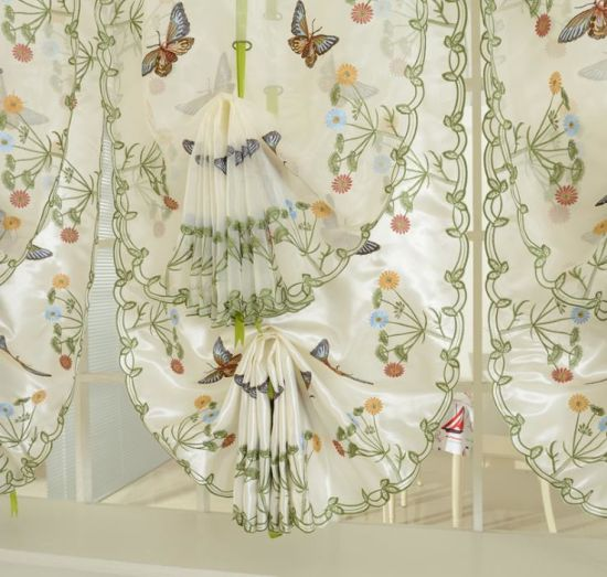 China Pull Curtain And Lifting, Balloon Curtains For Living Room