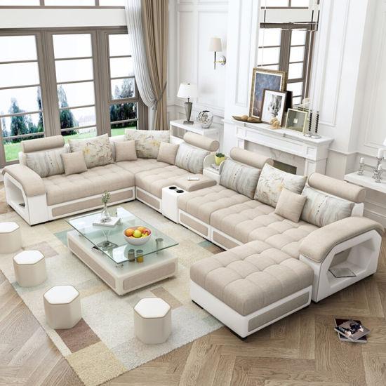 China Living Room Furniture Modern Leisure U Shape 7 ...