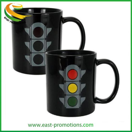 Custom Color-Changing Mug Magic Ceramic Coffee Mug Cup with Sublimation Printing