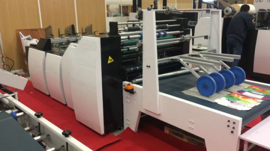 Automatic High Precision Window Patching Machine with Creasing Line