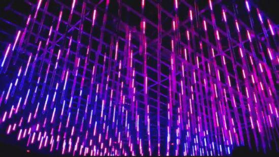 DJ Disco Party DMX512 3D LED Tube LED Stage Light LED Stage Lighting 3D LED Tube for Events Show
