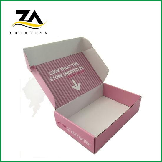 Customized Logo Printing Shipping Packaging Mailing Corrugated Box