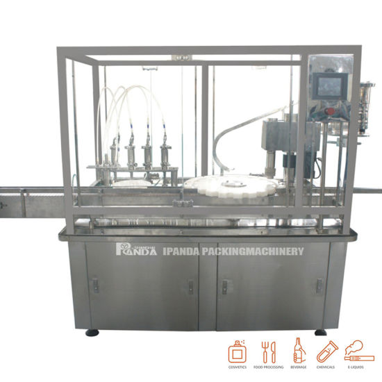 Automatic Dropper Bottle Filling Machine for Cbd Oil