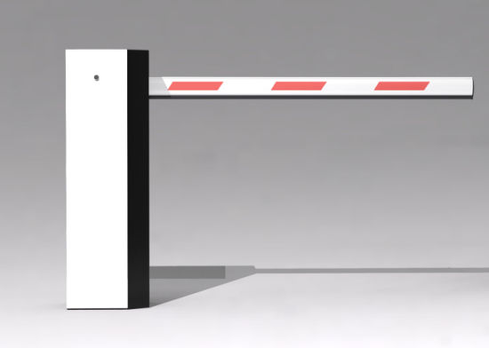 Black and White 409-E Economical Parking Barrier for Parking Lot