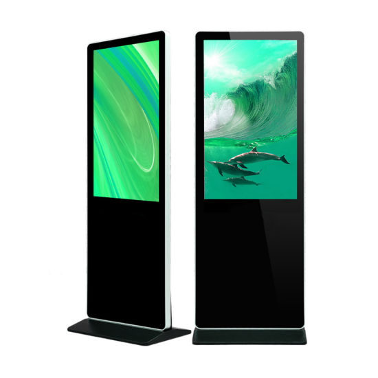 [Original Factory] 32 43 49 55 65inch Freestanding LCD Android Touch Screen Digital Signage Kiosk