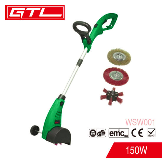 400W Electric Weed Sweeper Household Mini Floor Sweeper with 4 PCS Brush