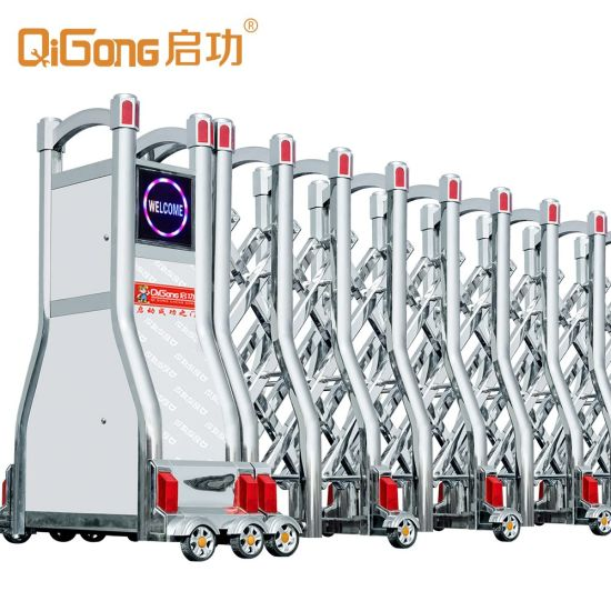 Wind Resistance Folding Gate for Main Entrance with Remote Control