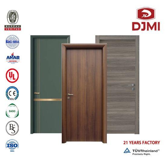 Flush Doors Hotel Apartment Melamine Skin Door HDF Plywood MDF Laminated Room Interior Fire Rated Wooden PU Paint Waterproof House Composite Wood Door