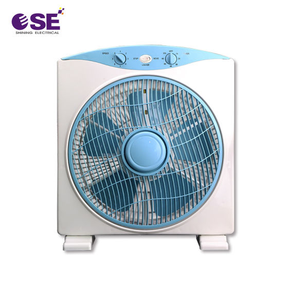 12 Inch 3 Speed Control Wholesale Box Fan with Timer