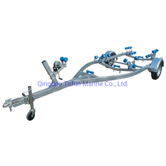 CE Approved Trailer for 5 - 6 Meters Boat