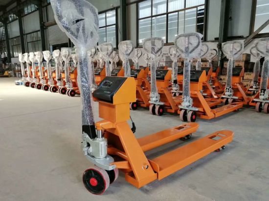 3 Ton Hydraulic Pallet Truck with Printer