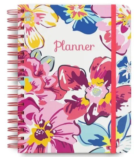 A4 Gold Spiral Notebooks with Weekly Plans Spiral Journal Office Supply Grid Writing Book