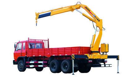 8000kg Mobile Truck-Mounted Crane