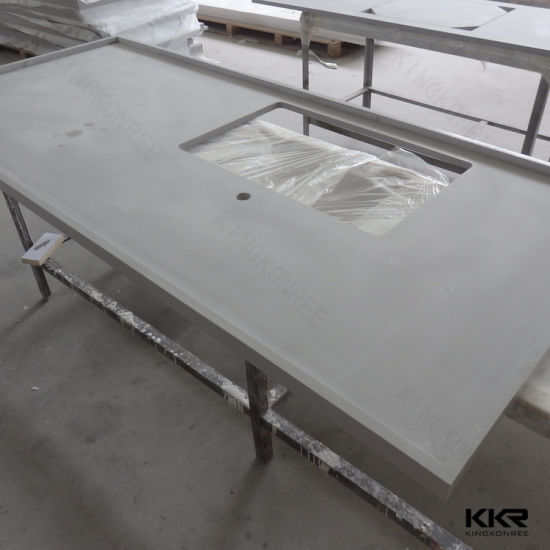 China Precut Stone Resin Solid Surface