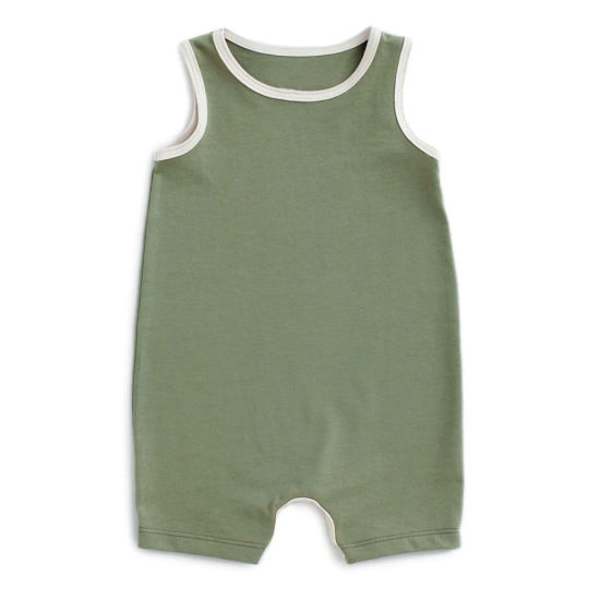Bkd Top Seller Plain Color Custom Design Organic Baby Clothing