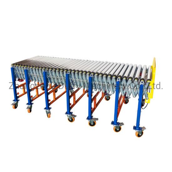 Customized Industrial Steel Roller Belt/Chain Conveyor System Roller Conveyor for Pallet Transfer