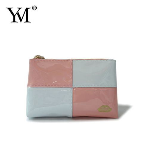 Factory Price Fashion Luxury PVC Leather Zipper Cosmetic Makeup Bag pictures & photos