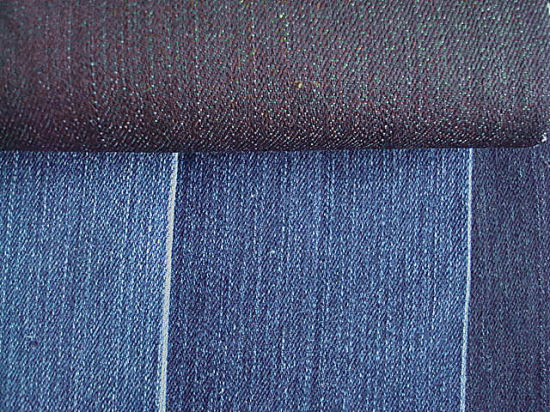 Stretch Cotton Slub Denim Fabric for Trousers pictures & photos