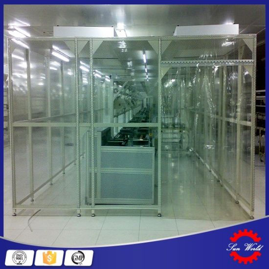Customized Clean Booth Class 100 Modular Cleanroom for Chemical pictures & photos
