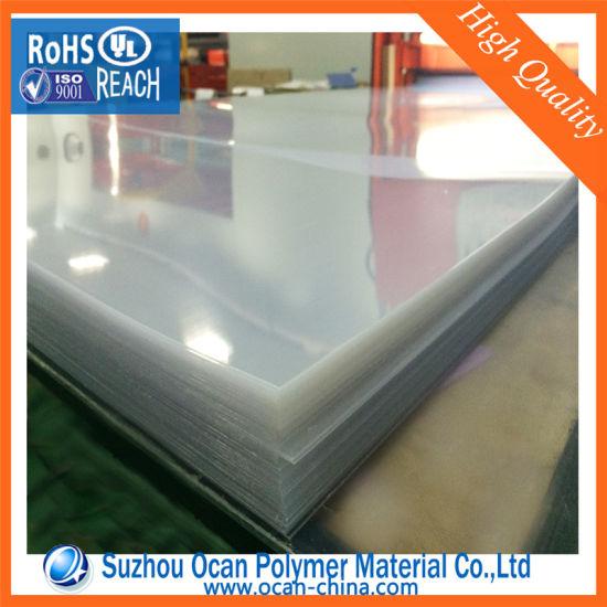 Rigid Plastic 3mm PVC Transparent Sheet for Cold Bending