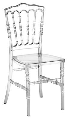 Plastic Knock Down White Napoleon Chair pictures & photos