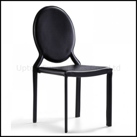 Remarkable China Louis Round Back Black Leather Dining Chair Sp Lc221 Uwap Interior Chair Design Uwaporg