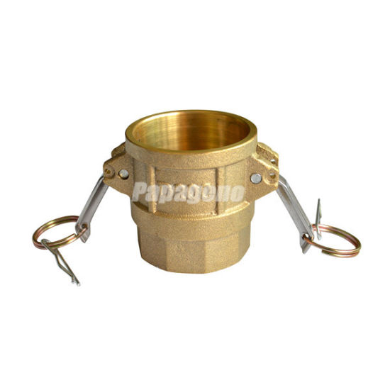 """1/2""""- 8"""" Brass Quick Hose Fittings"""