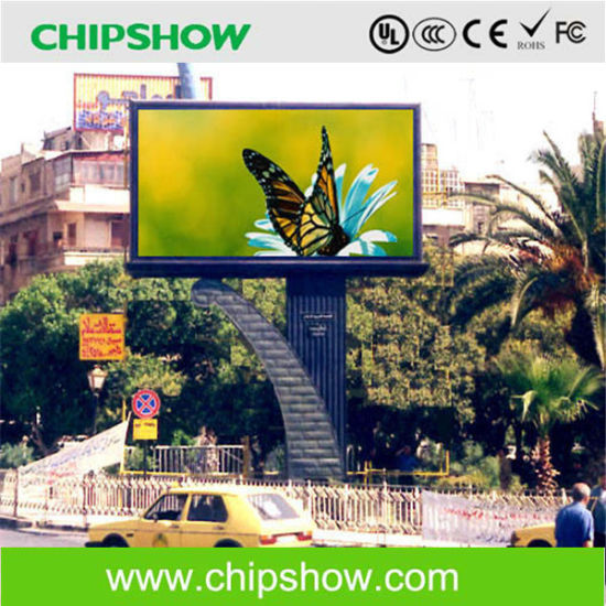 Chipshow P8 Full Color Advertising LED Video Display pictures & photos