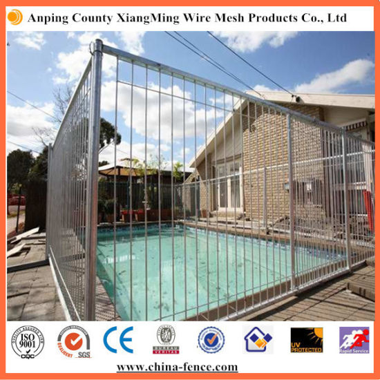 China High Zinc Rate Coated Protective Metal Pool Fencing pictures & photos