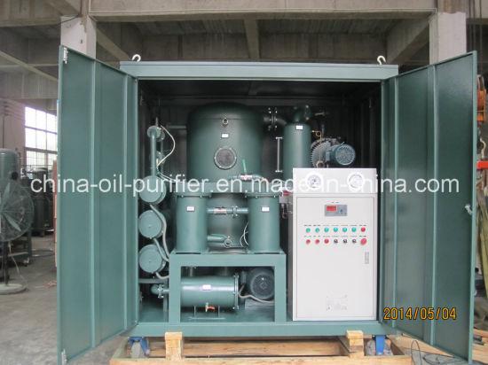 Vacuum High Power Line Transformer Oil Purification Plant