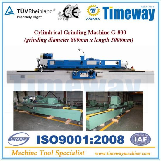 Cylindrical Grinding Machine and External Grinder Machine with 630mm/800mm Diameter