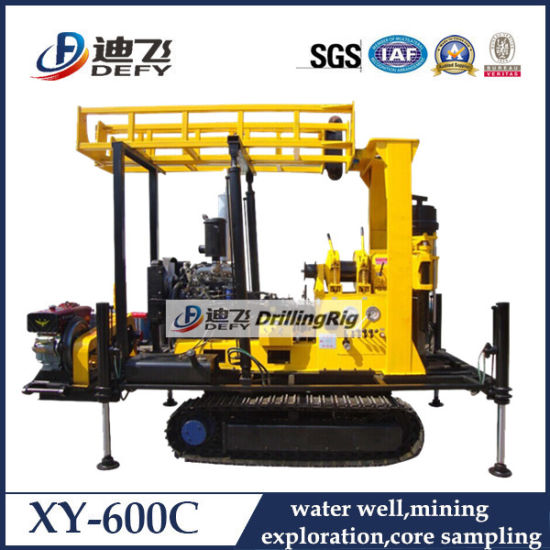 Crawler Mounted Efficient Geotechnical Drilling Rig