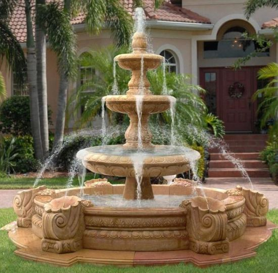 Garden Fountain, Water Fountain, Beautiful Fountain