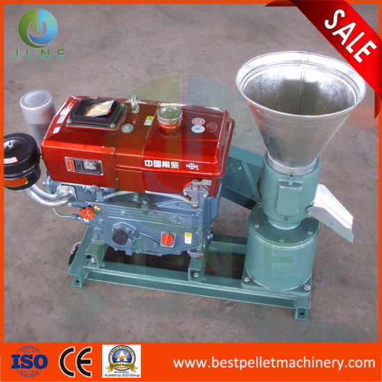 Poultry/Animal/Fish/Chicken/Cattle Feed Pellet Making Machine Automatic Equipment