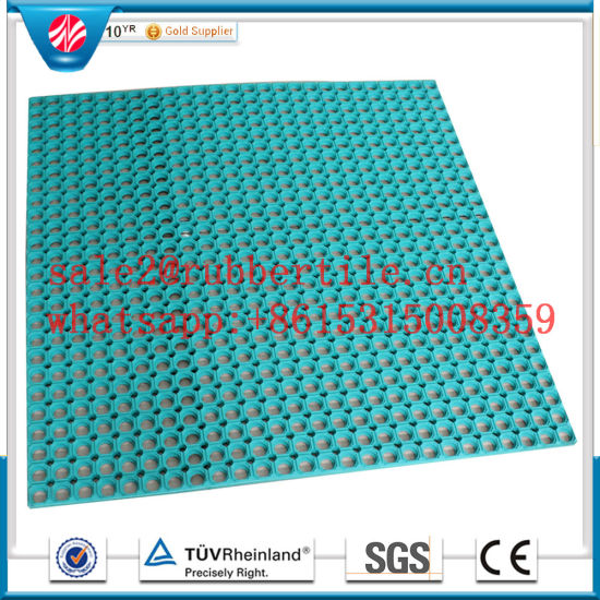 Drainage Rubber Mat Anti Slip Rubber Mat for Sale Anti-Fatigue Mat pictures & photos