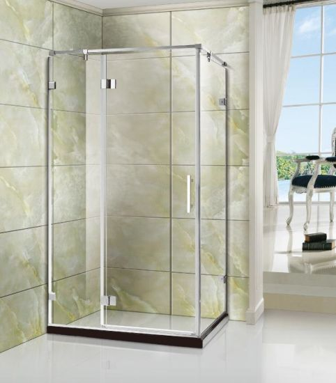 China 38 Safety Toughened Glass Shower Enclosure With Special