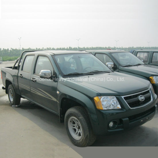 Low Price 2WD Isuzu Diesel Engine Pickup Truck With Euro3