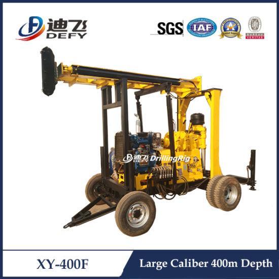 Xy-400f Large Caliber Soil Sample Core Drilling Machine