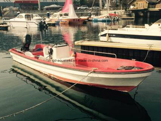 China Aqualand 19feet 23 Feet 5.8m 7m Fishing Boat/Fiberglass Pang a Boat (230) pictures & photos