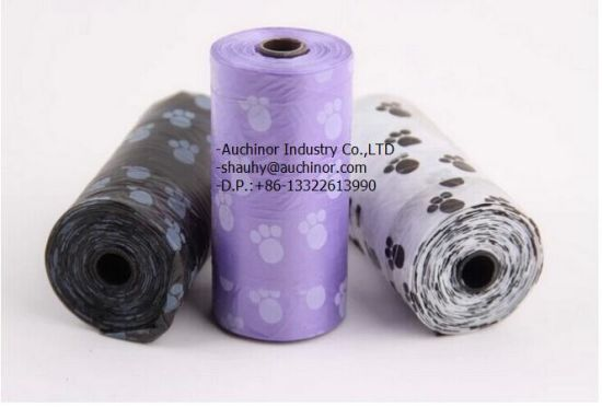 Custom Made Environmental Protection, Convenient Color Doggy Feces Bag pictures & photos