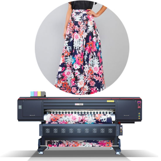 Digital Textile Sublimation Paper Printer Garment Printing Machine