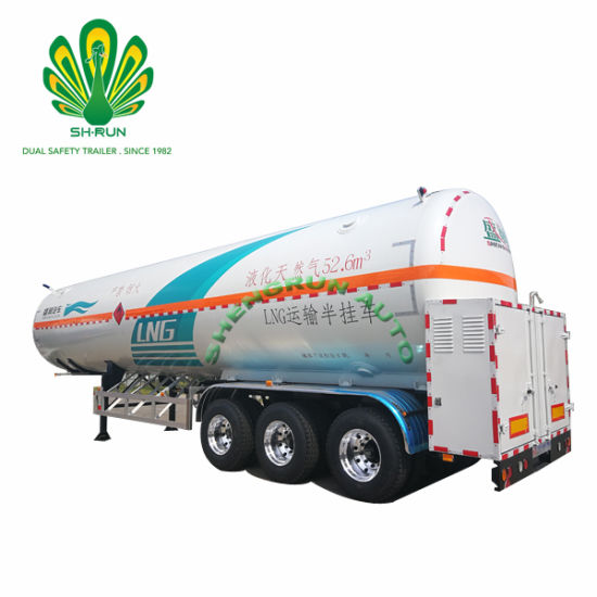 Shengrun Utility Big Capacity Good Quality LNG Tanker Truck Trailer pictures & photos