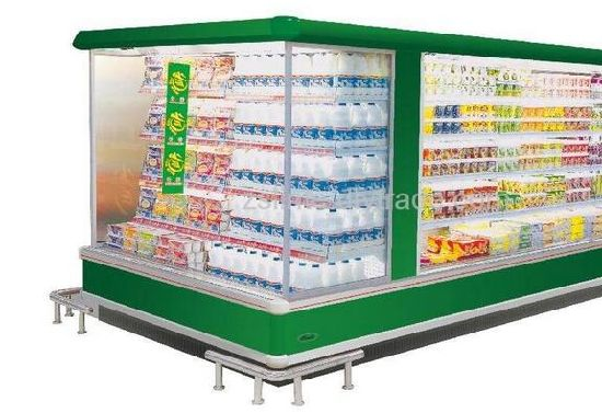 Display Refrigerator Showcase for Supermarket pictures & photos
