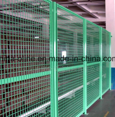 China Warehouse Partition Metal Wire Mesh Fence - China Sperate ...