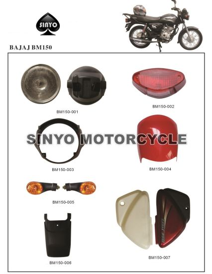 Popular Motorcycle Parts From China