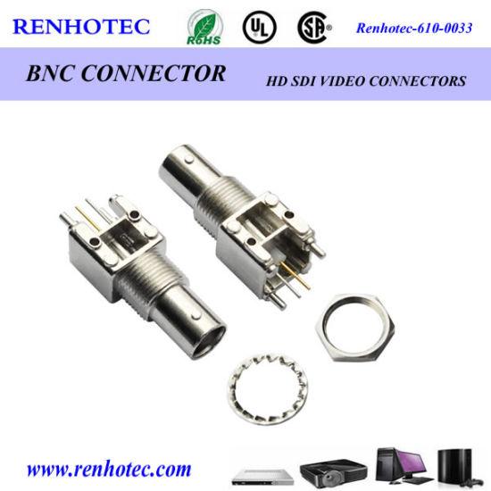 Zinc Alloy 90 Degree Female BNC Connector