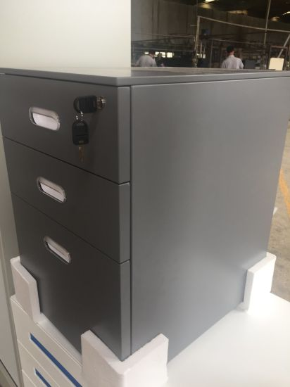 Z Edge 3-Drawers Mobile Pedestal (SQ Series) pictures & photos